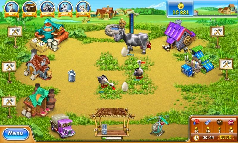 Скачать игру farm frenzy 3 на андроид